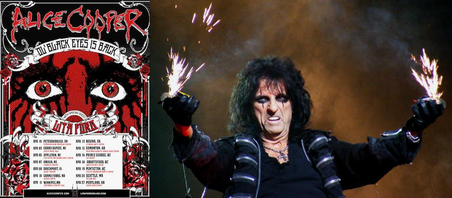 Alice Cooper at Peace Concert Hall