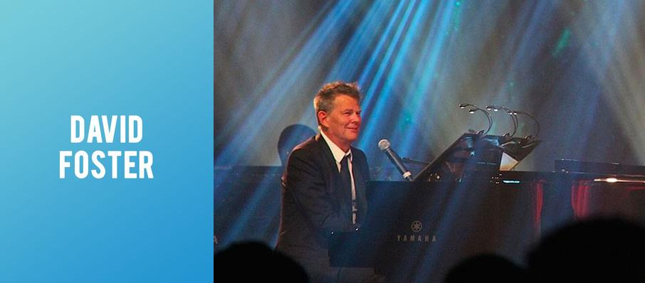 David Foster at Peace Concert Hall