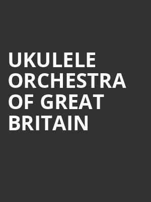 Ukulele Orchestra of Great Britain at Peace Concert Hall