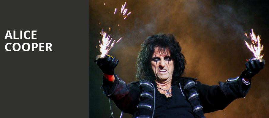 Alice Cooper, Peace Concert Hall, Greenville