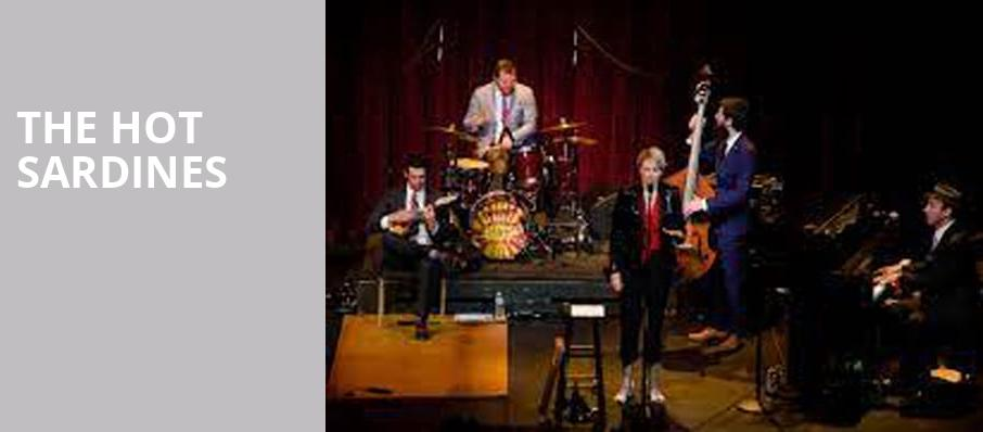 The Hot Sardines, Peace Concert Hall, Greenville