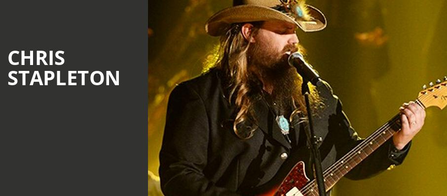 Chris Stapleton, Bon Secours Wellness Arena, Greenville