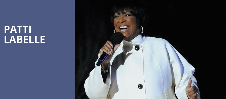 Patti Labelle, Peace Concert Hall, Greenville