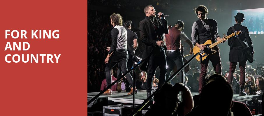 For King And Country, Bon Secours Wellness Arena, Greenville