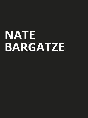 Nate Bargatze, Peace Concert Hall, Greenville