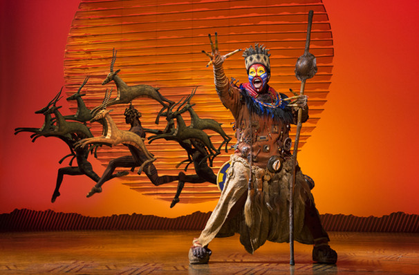 The Lion King, Peace Concert Hall, Greenville