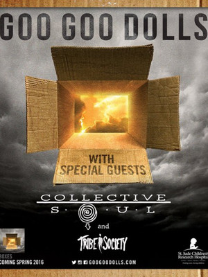 The Goo Goo Dolls, Collective Soul & Tribe Society Poster